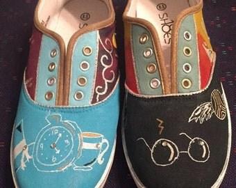 Sneakers Custom Painted