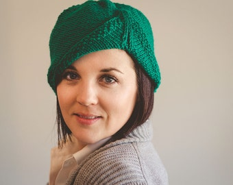 Knitting Pattern for the Hayworth Hat