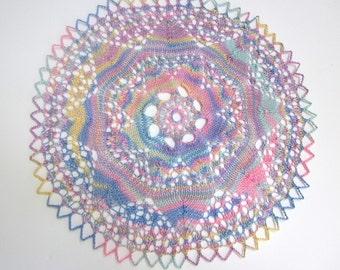 Handmade Pastel Cotton Cloth Doily Home Décor