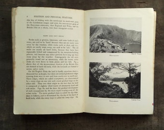 1950s geography book The British Isles by Thomas Pickles