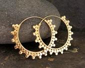 Sunray Gold Earrings