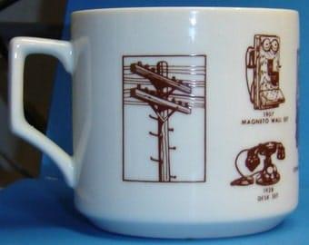 Vintage Telephones Mug - USED Ceramic Mug