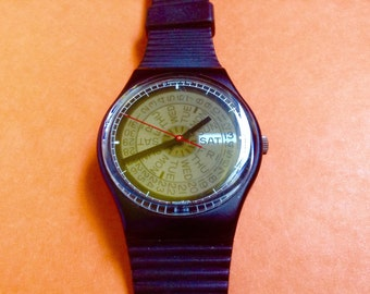 Swatch Watch Ebauche Early Swatch large watch Swatch watch Swiss watch