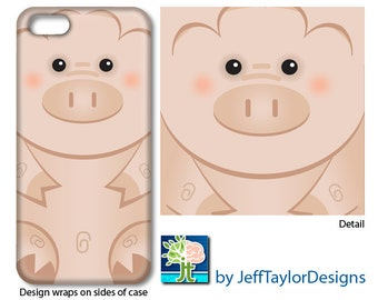 Pig Phone Case for iPhone 5/5s, iPhone 6, Galaxy s4 & s5