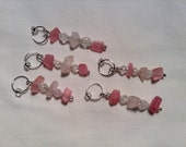 """Stitch Markers-Snag Free up to US size 9 """"Diamond in the Rough"""""""