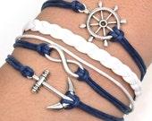 infinity charm love bracelet