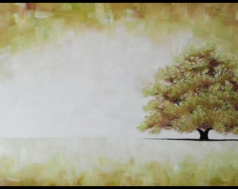 Sacred Solitary, an original oil painting by Jo Edwards