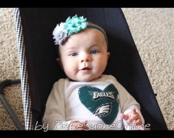 Philadelphia Eagles Girls Bodysuit or Toddler Shirt