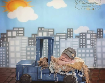 Large Truck Newborn Photography Prop