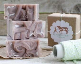 Violet- An All-Natural Bar of Herbal Soap