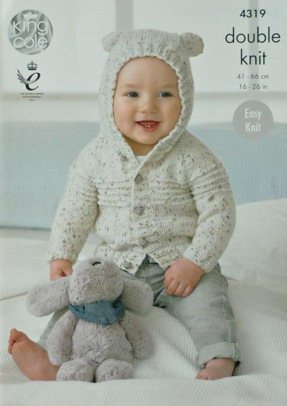 Knitting For Babies Uk : Baby knitting pattern k s easy knit long sleeve