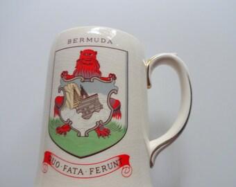 Vintage Bermuda Beer Stein 1970s