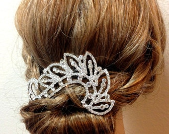 Wedding hair accessory, Bridal hair comb, crystal comb, bridal hair accessory, Bridal crystal Rhinestone Hair Comb, ballroom hair jewelry