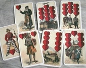 Set of 19 German Playing Cards Altenburger Spielkartenfabrik Schneider & Co. Ephemera
