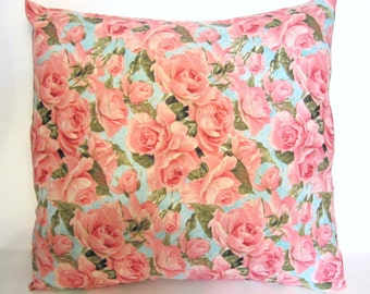 Decorative Throw Shabby Chic Pillow Cover 16x16 inch Couch