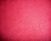 ONE ONLY  21 sq ft Magenta ELEPHANT Embossed Cowhide Leather Hide  PeggySueAlso