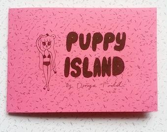 Puppy Island Comic zine