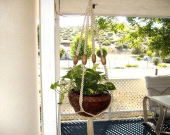 Plant hanger, Macrame plant hanger
