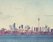 Toronto Photography, Toronto Photo, Toronto Art Print, Lake Ontario, Cn Tower Toronto, Toronto Skyline, Cn Tower Photo, Cn Tower Art