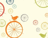 Birdie Spokes From Birch Organic Fabric's Just For Fun Collection by Jay-Cyn Designs