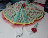 Twirly Circle Skirt for Twirly Girls, Size 10