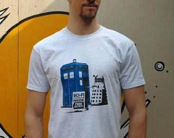 Sci-fi Geek 'Convention' Screen printed T Shirt