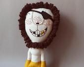 Mr. Lion Pirat 212 - Lion Plush Soft Toy stuffed Doll Plushie Softie