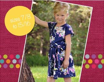 Danika's Tween One-Piece Top and Dress PDF Pattern size 7/8 to 15/16 tween girls