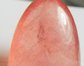 Mexican Strawberry Quartz designer cabochon High dome tongue  14.28 ct  Strawberry-Mexico . Collectors and Metaphisical cab