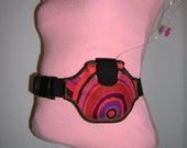 Insulin Pump Case diabetes pouch Pod pump cover Diabetic Pack Medical Belt Pump Purse gadgets holder Cheerful colorful with adjustable strap