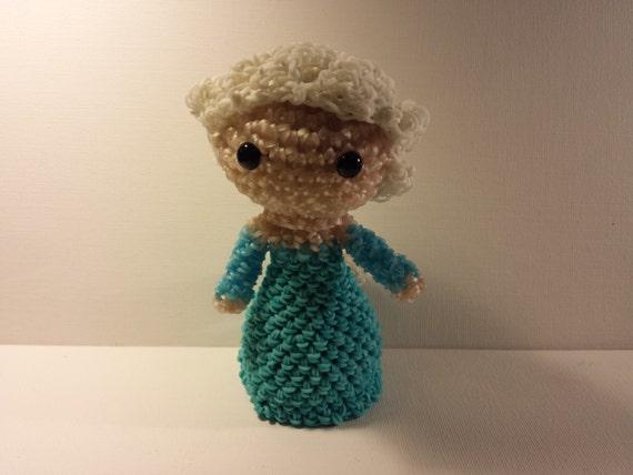 Amigurumi Lalylala : Amigurumi/Loomigurumi Rubber Band Crochet Ice Princess