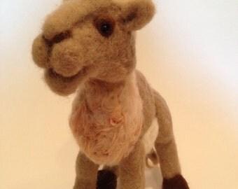 Needle Felted Camel