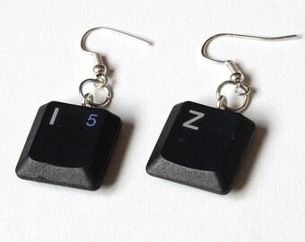 Keyboard Earrings KI-Z: