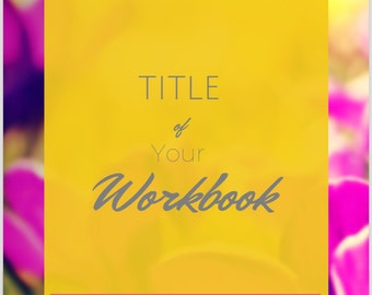 Ebook Workbook Template