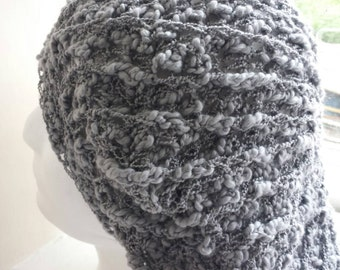 Handmade crochet beret style  hat made in Wales
