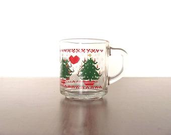 1984 CHD Christmas Mug Retro 8 Bit Vintage Design