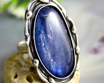 Kyanite Ring Sterling Silver