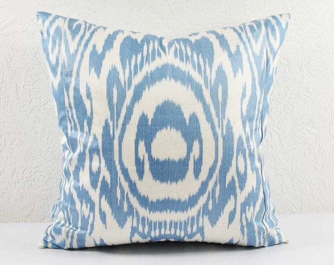 Ikat Pillow, Hand Woven Ikat Pillow Cover  npi510, Ikat throw pillows, Designer pillows, Decorative pillows, Accent pillows