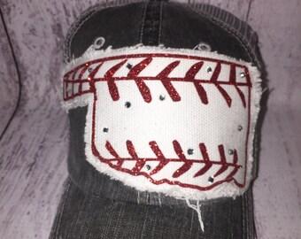 Distressed Oklahoma Baseball Hat