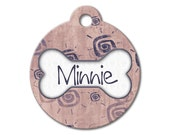 Urban Suns - Personalized Pet Tags, Custom Pet Tags, Dog ID Tags, Cat ID Tag, Dog Tags for Dogs, Designer Pet Tags - Pattern Pet Tags