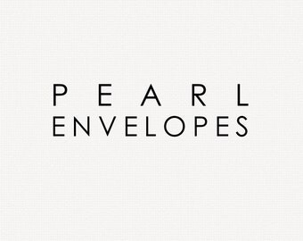 Add-On : Pearl Envelopes
