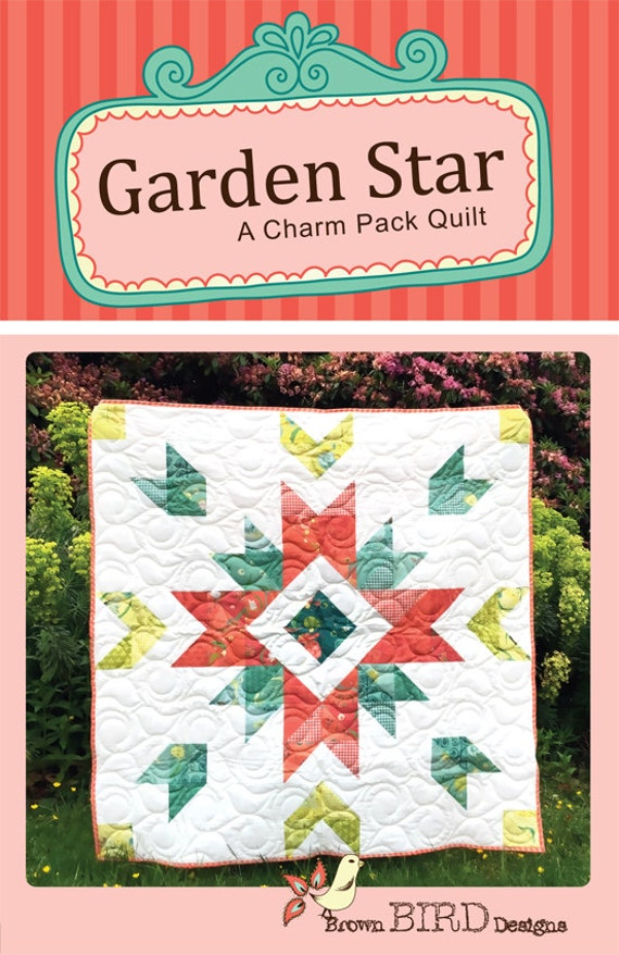 garden star quilt pattern download file