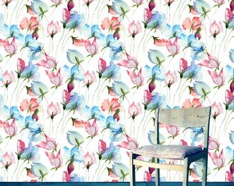 Watercolor Wallpaper On Etsy A Global Handmade And