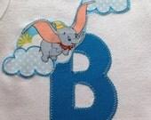 Dumbo Baby Shirt/ Dumbo Baby Shower gift/ Disney Shirt/ Dumbo Bodysuit/ Disney Baby/ Disney Baby Shower