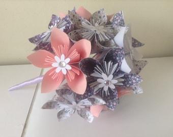 origami bouquet etsy fr. Black Bedroom Furniture Sets. Home Design Ideas