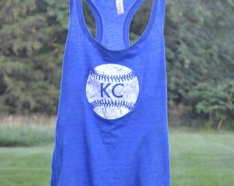 Kansas City Royals Screen Printed Ladies