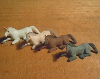 Resting horse/unicorn