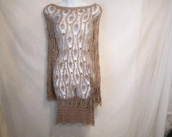 Crochet Vintage 80's Top
