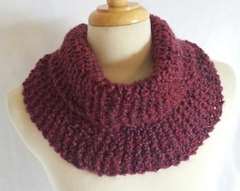 Knit Infinity Cowl  Scarf