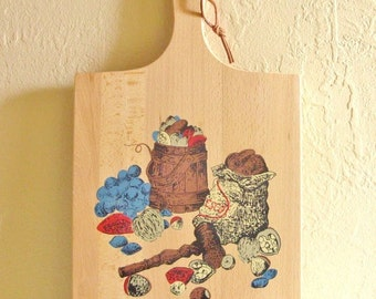 Excellent Cutting Board Made in Yugoslavia Home Decor Wall Hanging SALE Priced